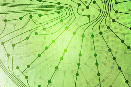 go green: Green technology background of electronic
