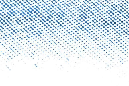fading: macro printed dots fading into white Stock Photo
