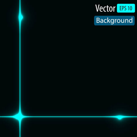 dynamic background: Vector dynamic background with bright lines