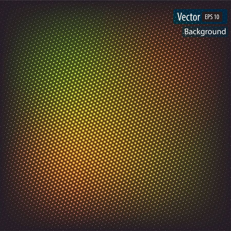 dynamic background: Vector dynamic background with circles