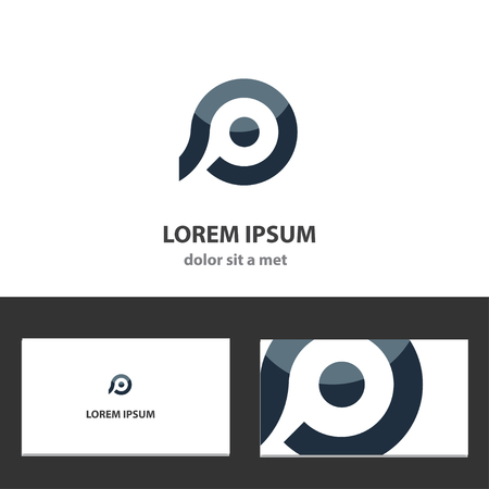 Abstract design template for business Vector