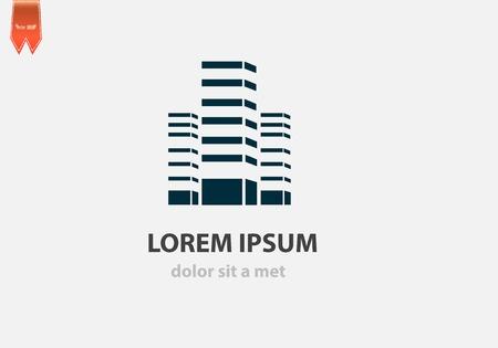 comercial: Icono de la construcci�n del vector para el negocio. Idea creativa para su empresa.