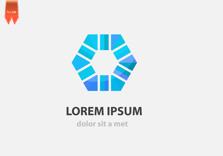 Vector abstract icon. Modern design for business. Vector
