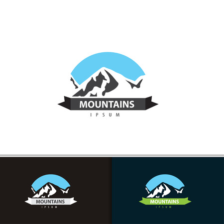 dawn: Mountain  design.