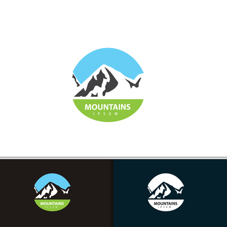 eco tourism: Mountain  design.