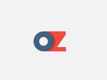 문자 Z, 아이콘 디자인 템플릿입니다. 벡터 비즈니스 요소입니다.