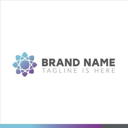 Abstract logo. Minimalistic logo design. Creative logo. ... Vector illustration