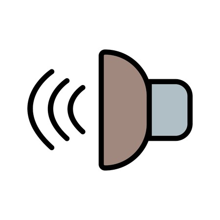Sound Sign Icon Vector Illustration For Personal And Commercial Use...Clean Look Trendy Icon...