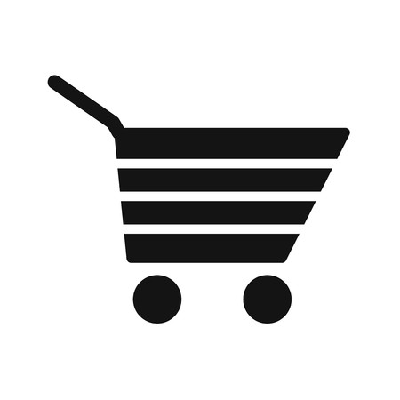Shopping Cart Sign Icon Vector Illustration For Personal And Commercial Use... Clean Look Trendy Icon... Ilustração