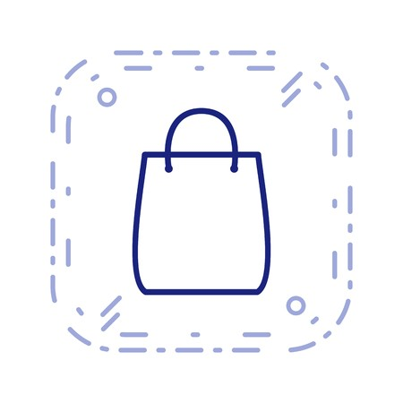 Shopping Bag Sign Icon Vector Illustration For Personal And Commercial Use... Clean Look Trendy Icon... Ilustração