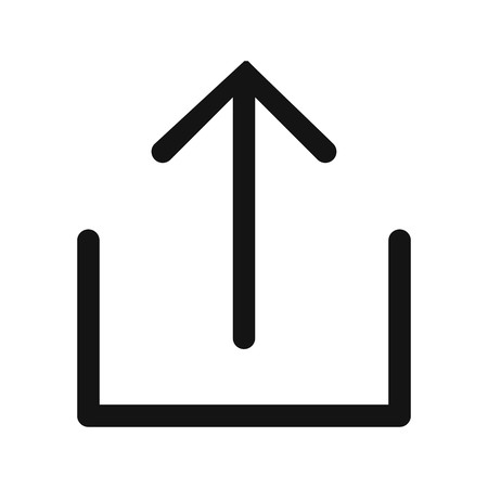 Upload Sign Icon Vector Illustration For Personal And Commercial Use... Clean Look Trendy Icon...
