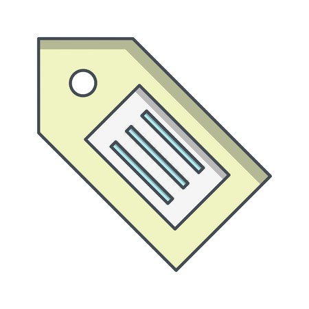Tag Sign Icon Vector Illustration For Personal And Commercial Use... Clean Look Trendy Icon...  Illusztráció