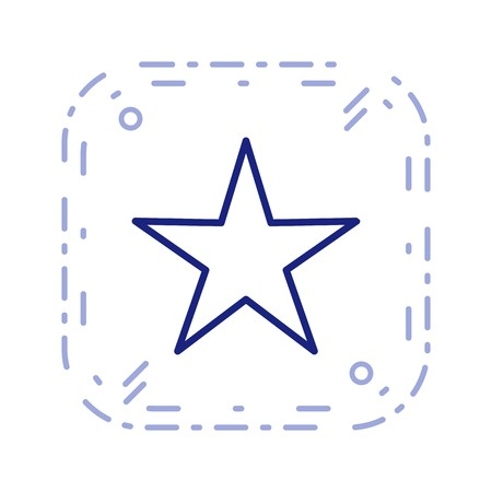 Star Sign Icon Vector Illustration For Personal And Commercial Use...Clean Look Trendy Icon...