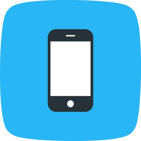 Phone Cell Sign Icon Vector Illustration For Personal And Commercial Use...Clean Look Trendy Icon... 向量圖像