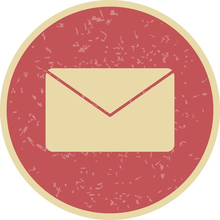 Envelope Sign Icon Vector Illustration For Personal And Commercial Use... Clean Look Trendy Icon...