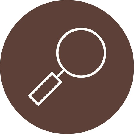 Magnifying Glass Sign Icon Vector Illustration For Personal And Commercial Use... Clean Look Trendy Icon... Ilustração