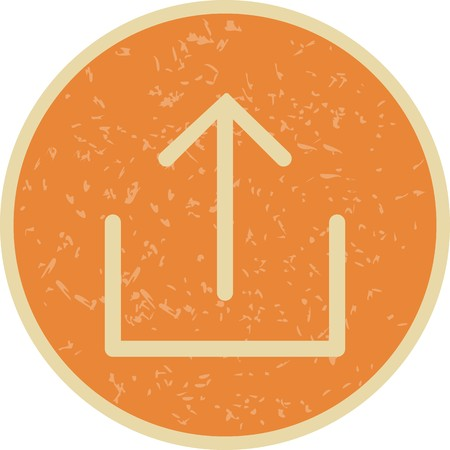 Upload Sign Icon Vector Illustration For Personal And Commercial Use...Clean Look Trendy Icon...