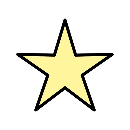 Star Sign Icon Vector Illustration For Personal And Commercial Use... Clean Look Trendy Icon...