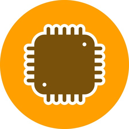 Processor Sign Icon Vector Illustration For Personal And Commercial Use...Clean Look Trendy Icon... 向量圖像