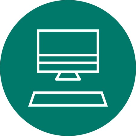 Computer Sign Icon Vector Illustration For Personal And Commercial Use...Clean Look Trendy Icon...
