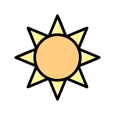 Brightness Vector Icon For Personal And Commercial Use.............