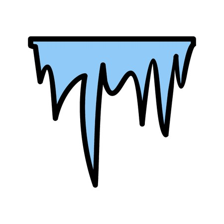 Icicle Vector Icon For Personal And Commercial Use.............
