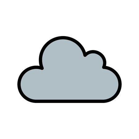 Weather Icon Cloud Vector Icon For Personal and Commercial Use.......................