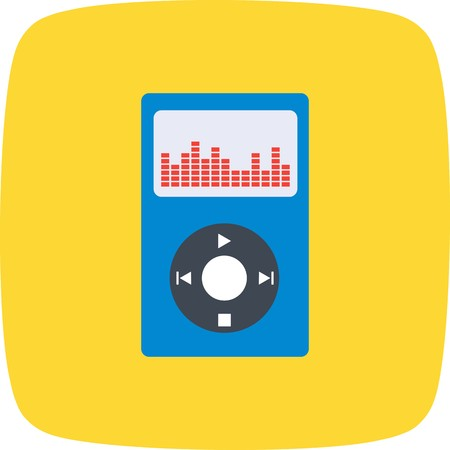Music Player Sign Icon Vector Illustration For Personal And Commercial Use...Clean Look Trendy Icon... 向量圖像