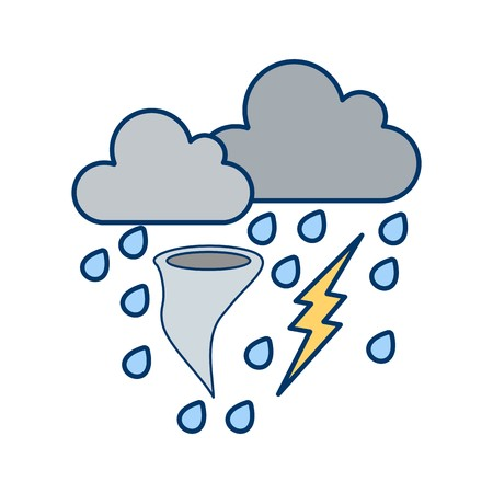 Bad Weather Vector Icon For Personal And Commercial Use.............