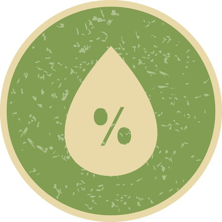 Humidity Vector Icon For Personal And Commercial Use