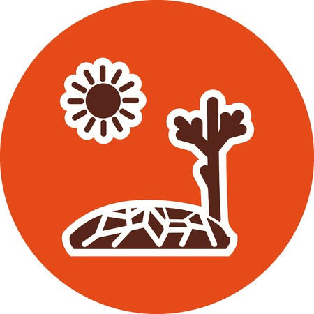 Drought Vector Icon For Personal And Commercial Use