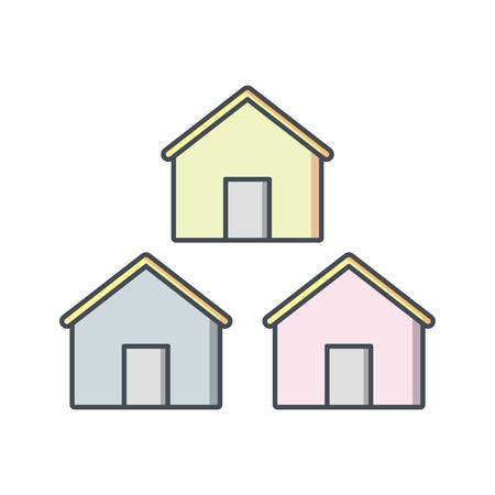 Neighborhood Vector Icon Sign Icon Vector Illustration For Personal And Commercial Use... Clean Look Trendy Icon... Illustration
