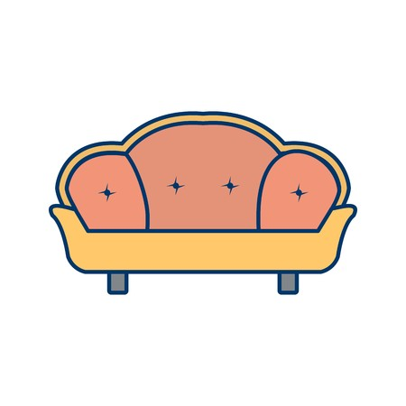 Sofa Vector Icon Sign Icon Vector Illustration For Personal And Commercial Use...