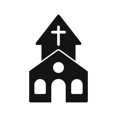 Church Vector Icon Sign Icon Vector Illustration For Personal And Commercial Use...