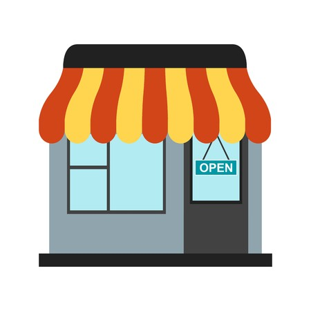 Shop Vector Icon Sign Icon Vector Illustration For Personal And Commercial Use...Clean Look Trendy Icon... Illustration
