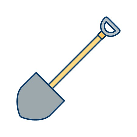 Shovel Vector Icon Sign Icon Vector Illustration For Personal And Commercial Use...