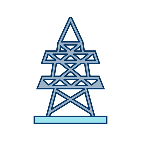 Electric tower Vector Icon Sign Icon Vector Illustration For Personal And Commercial Use...Clean Look Trendy Icon...