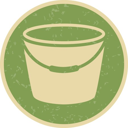 Bucket Vector Icon Sign Icon Vector Illustration For Personal And Commercial Use...