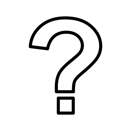 Question Mark Vector Icon Sign Icon Vector Illustration For Personal And Commercial Use...Clean Look Trendy Icon... 版權商用圖片 - 113131101