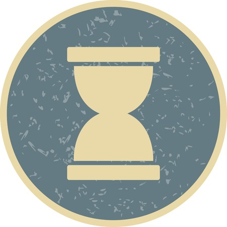 Hourglass Vector Icon Sign Icon Vector Illustration For Personal And Commercial Use...Clean Look Trendy Icon...