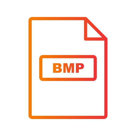 BMP Vector Icon Sign Icon Vector Illustration For Personal And Commercial Use... Clean Look Trendy Icon...