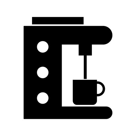 Coffee Maker Vector Icon Sign Icon Vector Illustration For Personal And Commercial Use...Clean Look Trendy Icon...