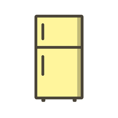Fridge Vector Icon Sign Icon Vector Illustration For Personal And Commercial Use...