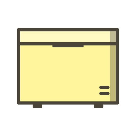 Deep Freezer Vector Icon Sign Icon Vector Illustration For Personal And Commercial Use...