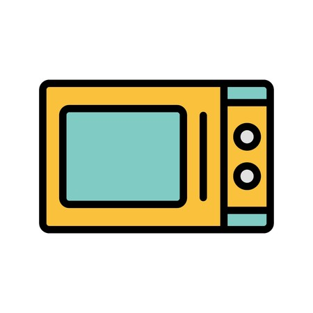 Microwave Oven Vector Icon Sign Icon Vector Illustration For Personal And Commercial Use... Clean Look Trendy Icon...