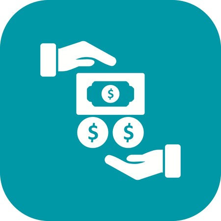 Salary Vector Icon Sign Icon Vector Illustration For Personal And Commercial Use... Clean Look Trendy Icon...