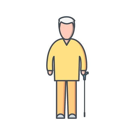 Pension Vector Icon Sign Icon Vector Illustration For Personal And Commercial Use... Clean Look Trendy Icon...