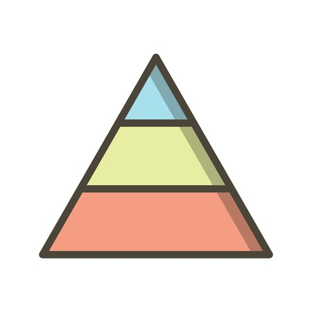 Pyramid Vector Icon Sign Icon Vector Illustration For Personal And Commercial Use...