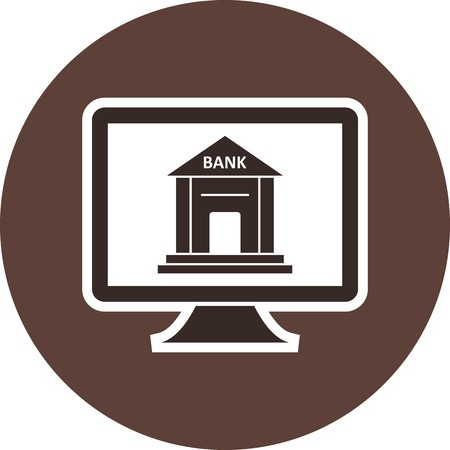 Internet Banking Vector Icon Sign Icon Vector Illustration For Personal And Commercial Use...