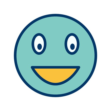 Laughing Emoji Vector Icon Sign Icon Vector Illustration For Personal And Commercial Use...Clean Look Trendy Icon...